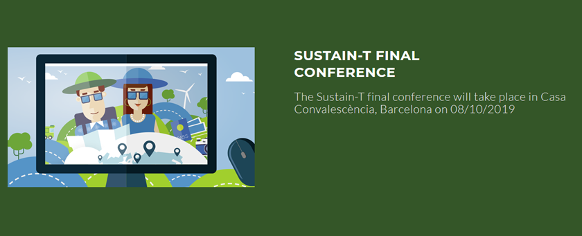 "SAVE THE DATE: ""SUSTAIN-T FINAL CONFERENCE"" // BARCELONA, 8 OCTOBER 2019 - Sustain-T"